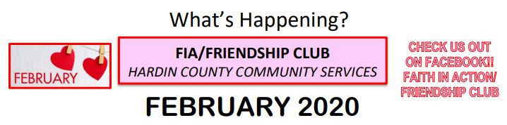Community Services February